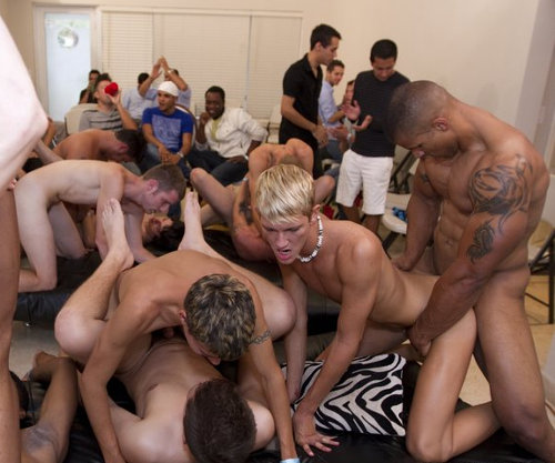 Orgy party gay